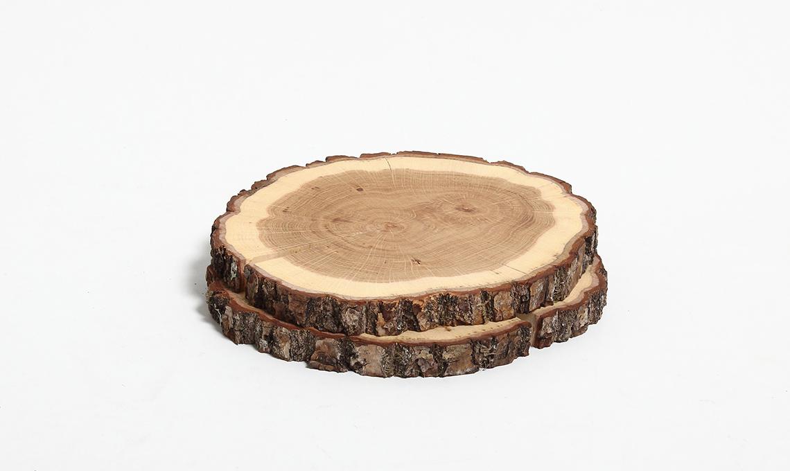 sottopiatti in legno
