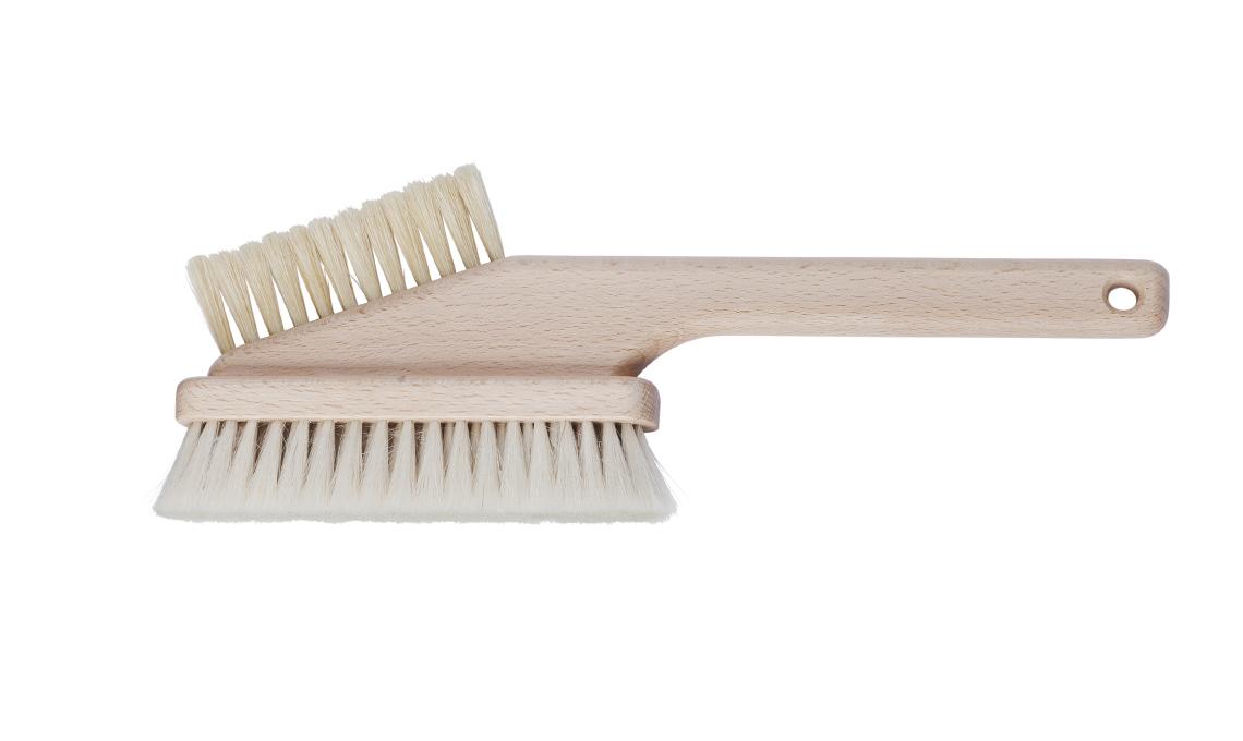 spazzola in legno
