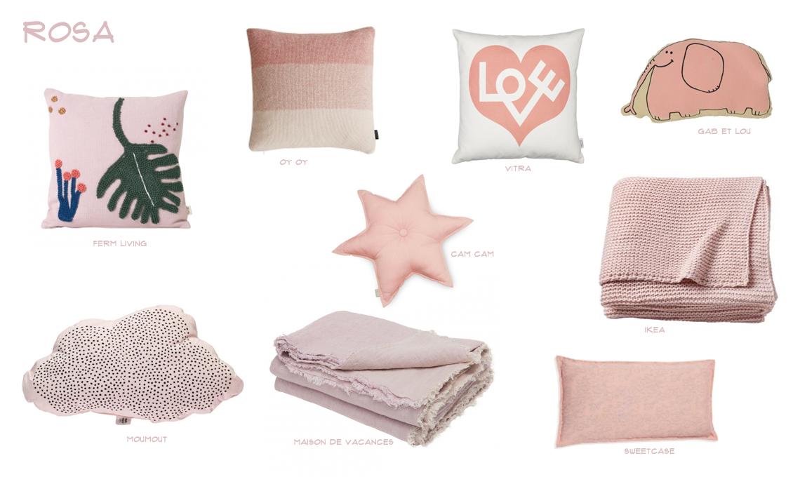 Cuscino A Forma Di Cuore Ikea.Decorare La Cameretta Con Il Colore Preferito Del Tuo