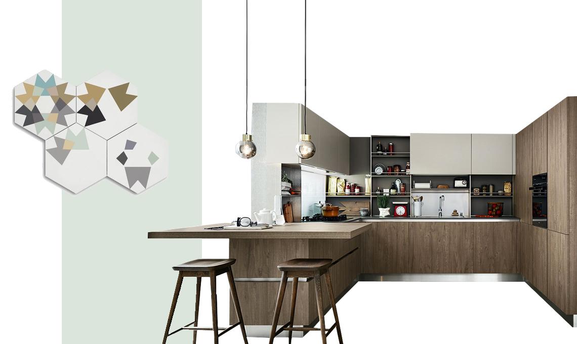 Colori pareti cucina come scegliere tinta e abbinamenti for Tavole colori per pareti
