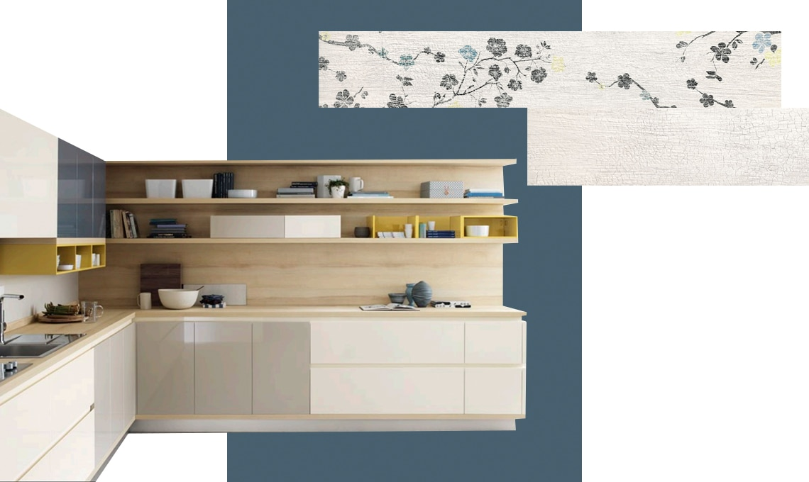 Colori pareti cucina come scegliere tinta e abbinamenti casafacile - Colore parete cucina noce ...