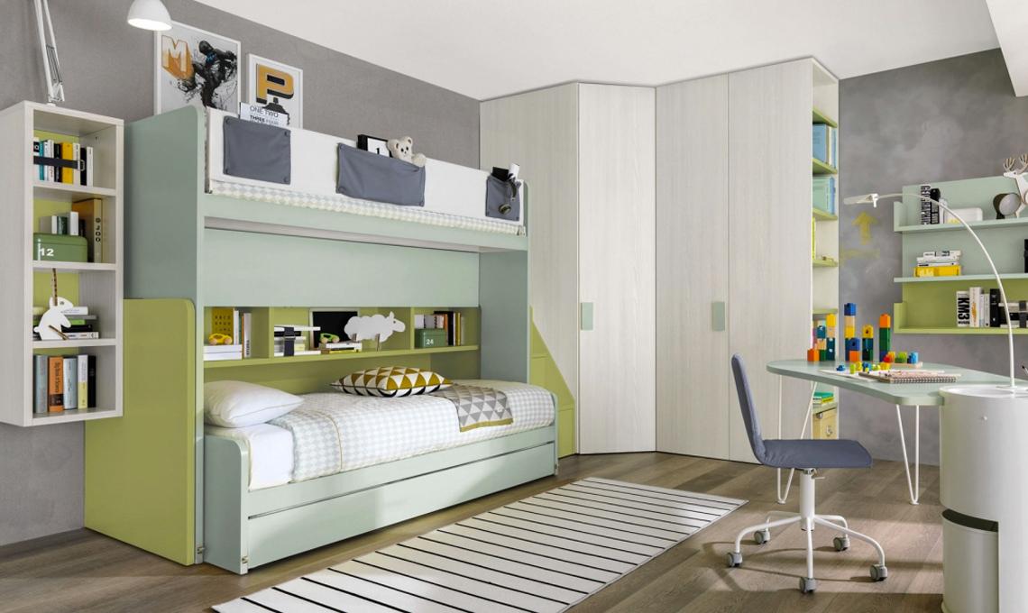 10 letti a soppalco per la cameretta casafacile - Parti di un letto ...