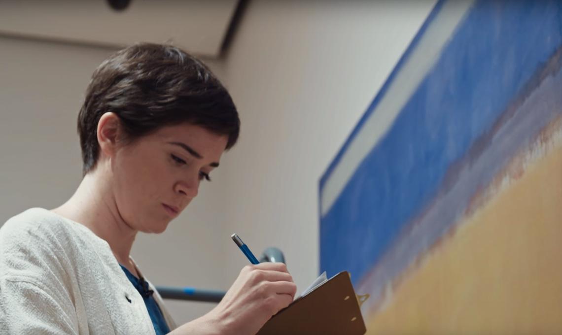 Un fermo immagine da uno dei documentari del MoMA di New York.