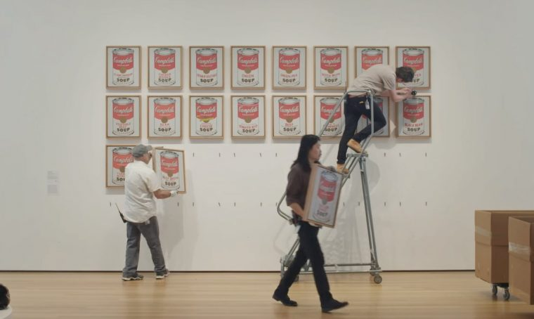 Un fermo immagine da uno dei documentari del MoMA di New York.