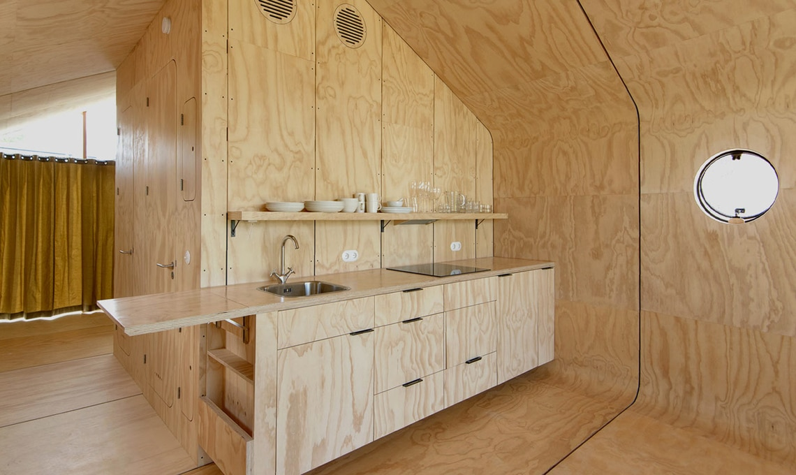Wikkelhouse - interni a Almere Bouwexpo