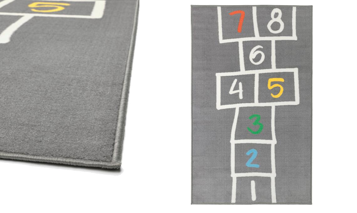 15 tappeti per la cameretta casafacile - Pulire tappeto ikea ...