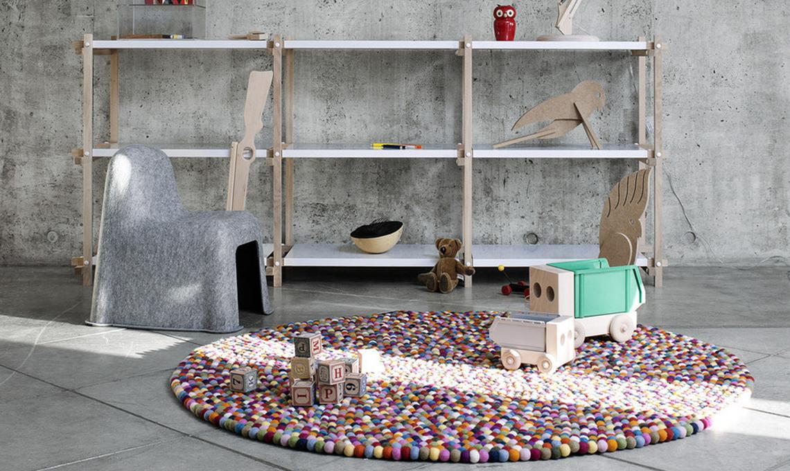 Tappeti Colorati Per Camerette : Tappeti per la cameretta casafacile