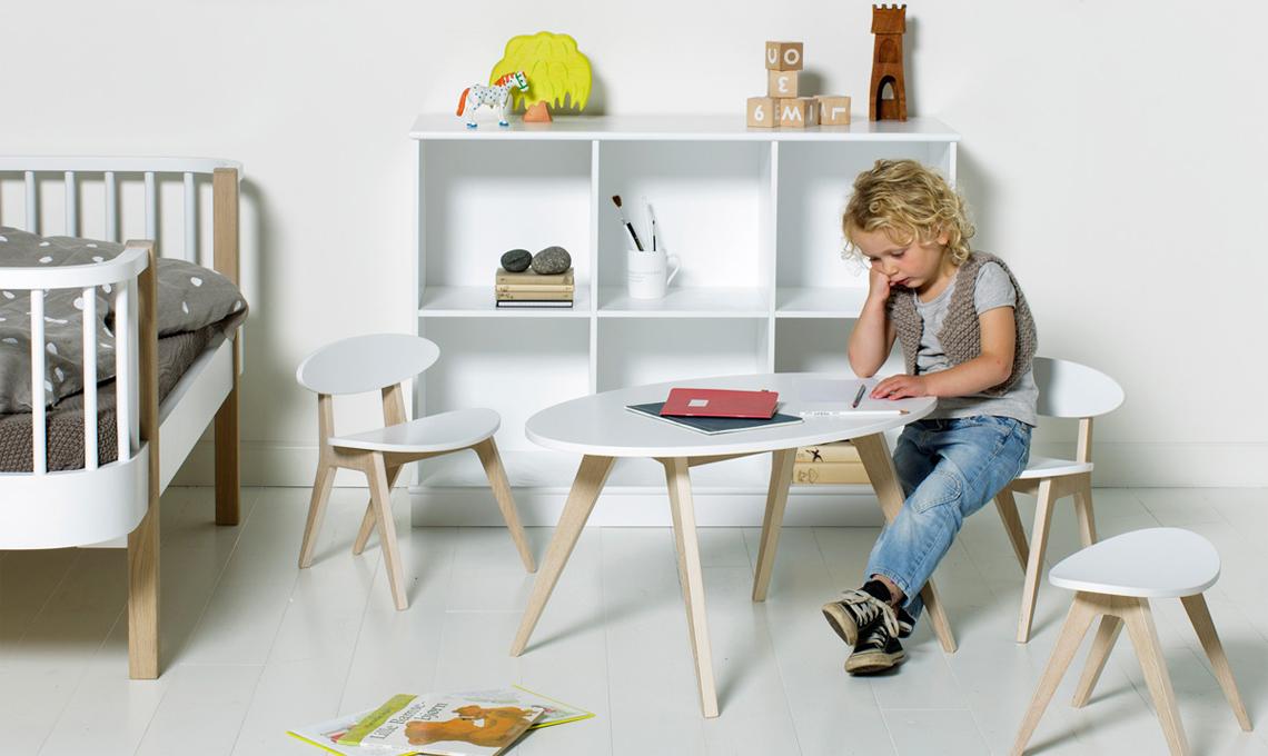 Tavoli e sedie per l\'angolo creativo in cameretta - CASAfacile