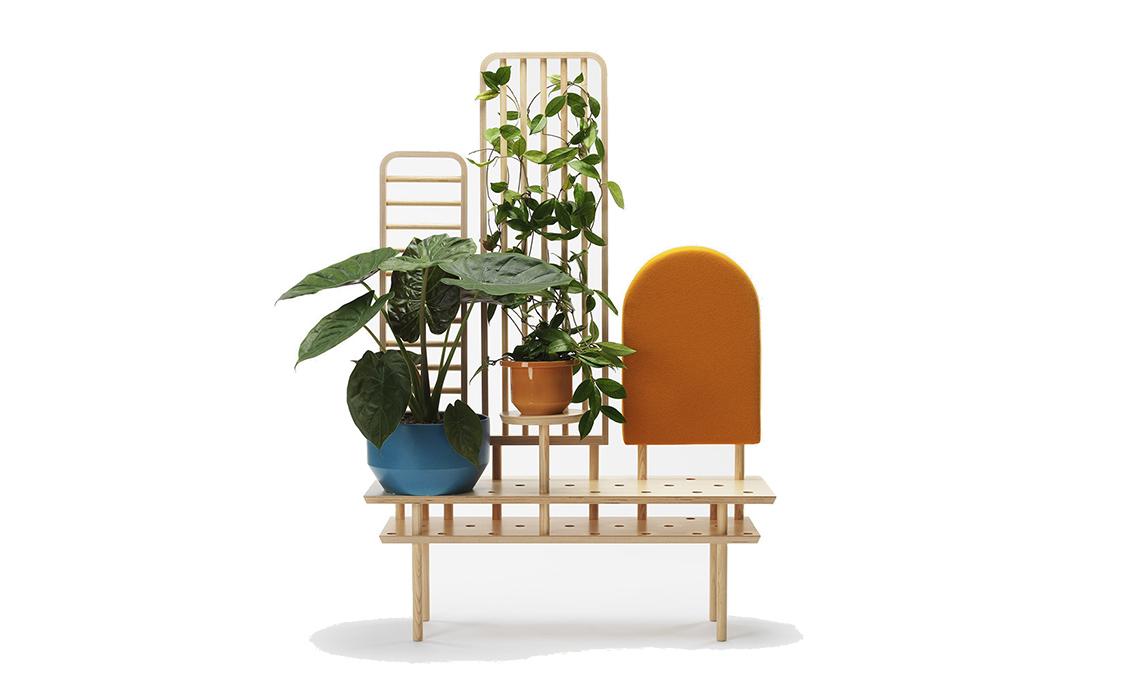 panca per piante