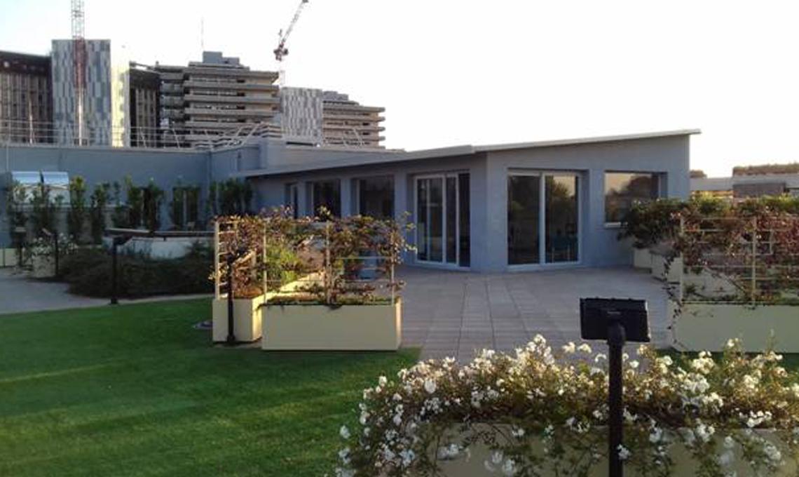 Tetto verde Ospedale Monza