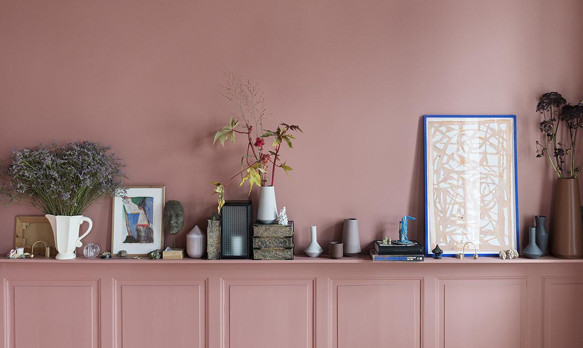 Arredare con i colori l 39 eleganza evergreen del rosa for Arredare con i colori