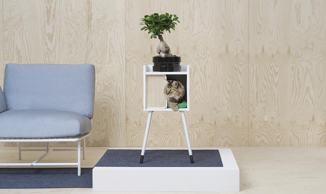 Lurvig la nuova collezione di ikea per cani e gatti for Tiragraffi per gatti ikea