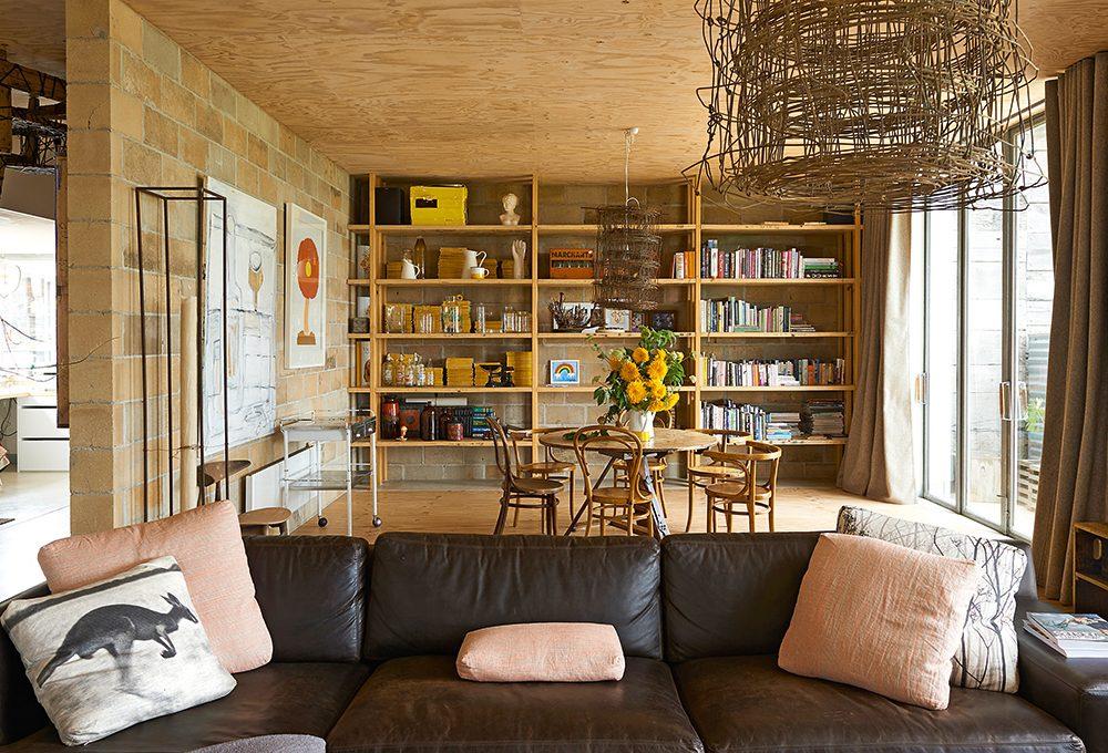 Una casa 100% ecologica con soluzioni fai da te di riciclo creativo