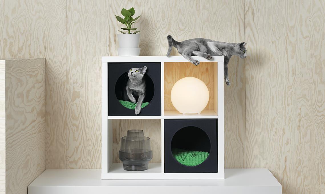 Mobili Per Gatti Fai Da Te : Lurvig la nuova collezione di ikea per cani e gatti casafacile