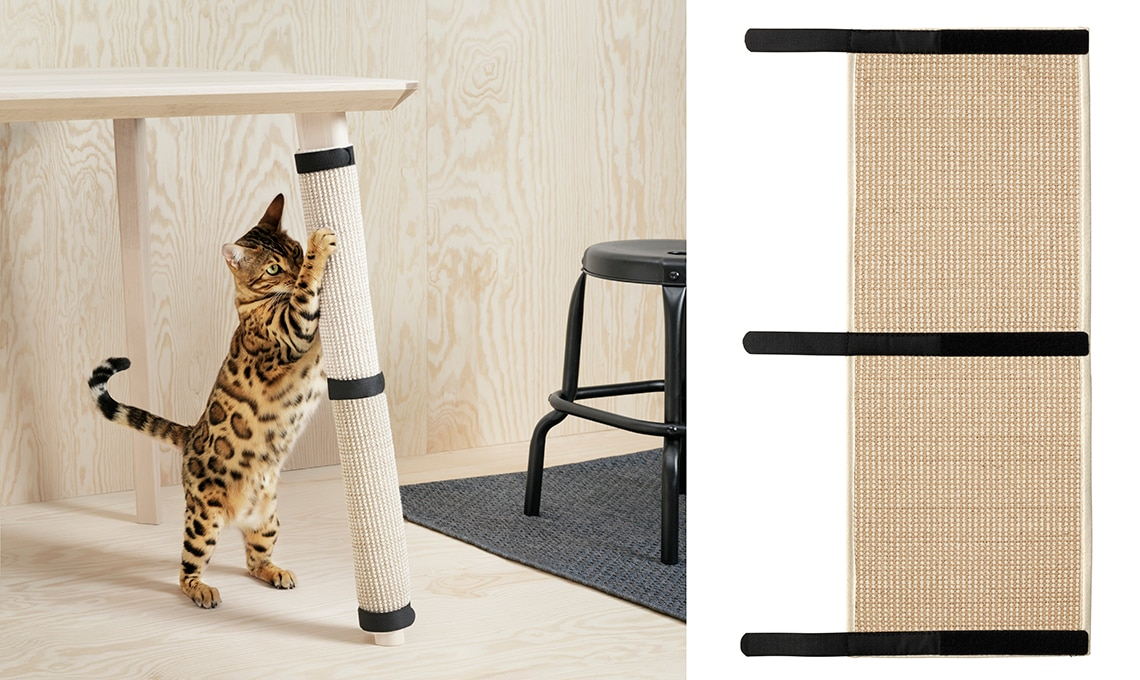 Lurvig la nuova collezione di ikea per cani e gatti for Tiragraffi ikea
