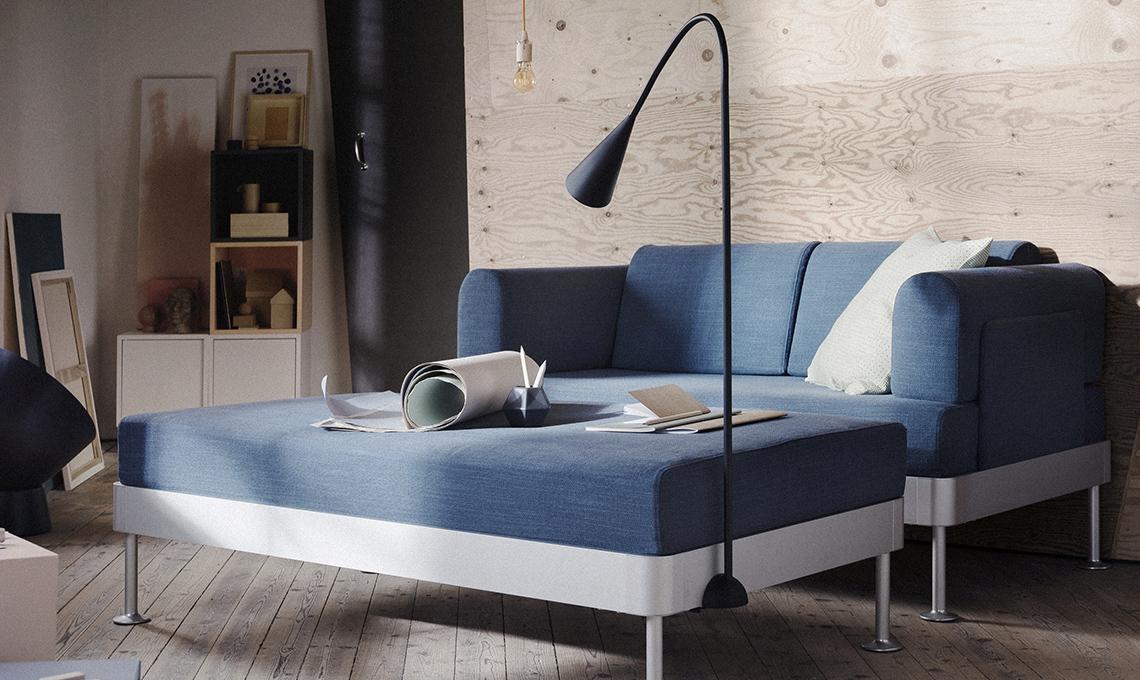 divano delaktig la collezione ikea in collaborazione con tom dixon arriva nei negozi casafacile. Black Bedroom Furniture Sets. Home Design Ideas