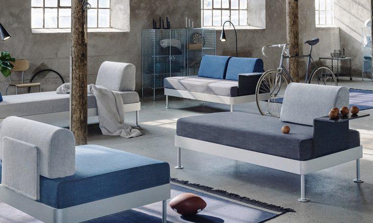 Divano Delaktig: la collezione Ikea in collaborazione con Tom Dixon arriva nei negozi
