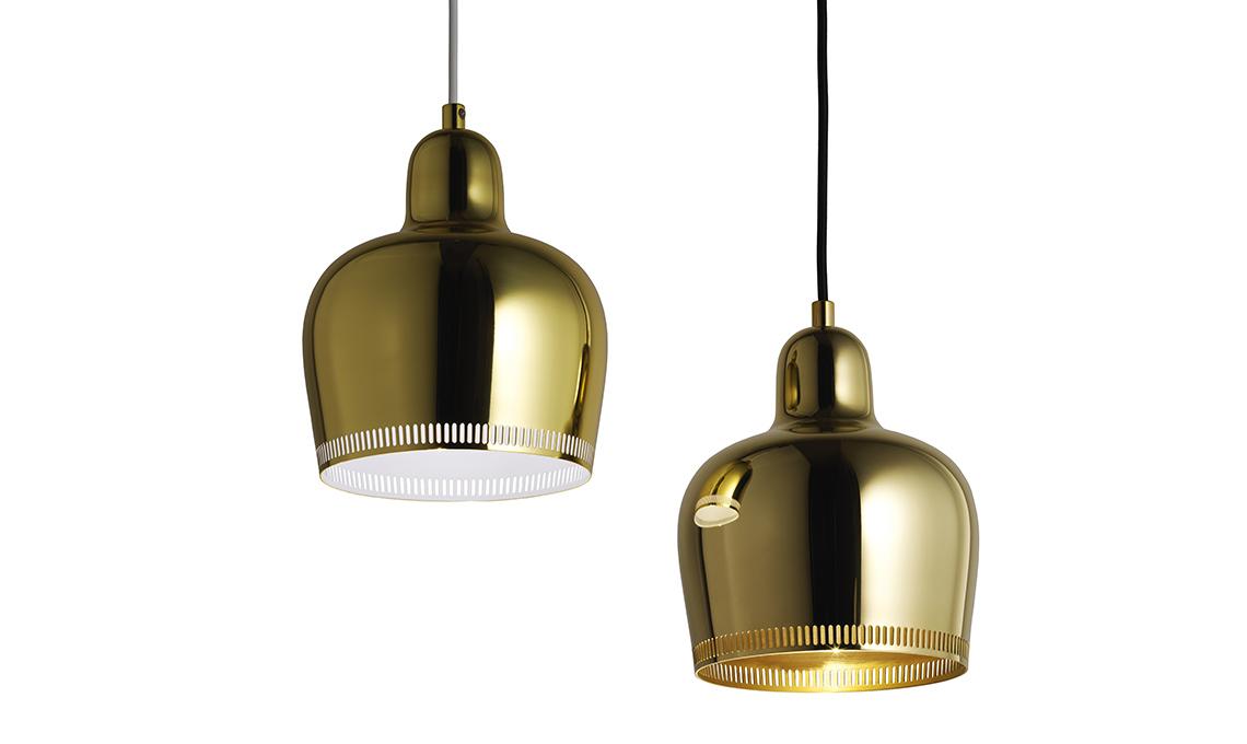 lampade ottone