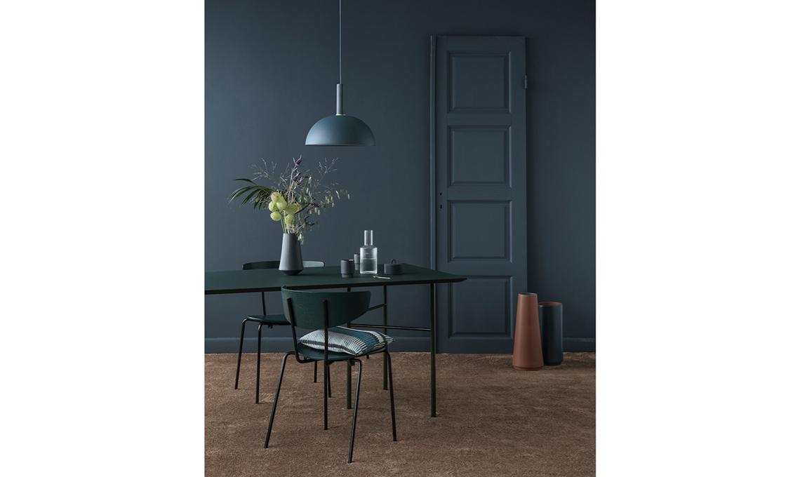 parete blu