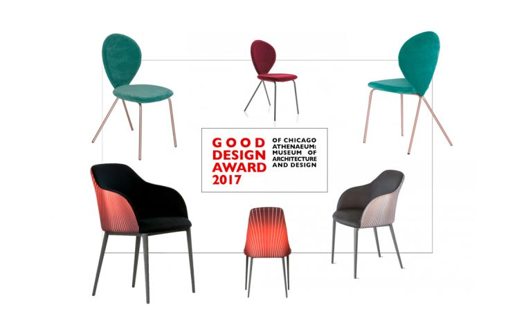 Riflessi vince 2 Good Design Award 2017