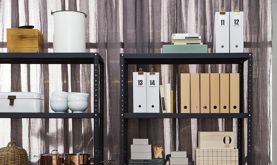 Scaffali Ufficio Design : Gli scaffali di metallo ora sono di tendenza in ogni stanza casafacile