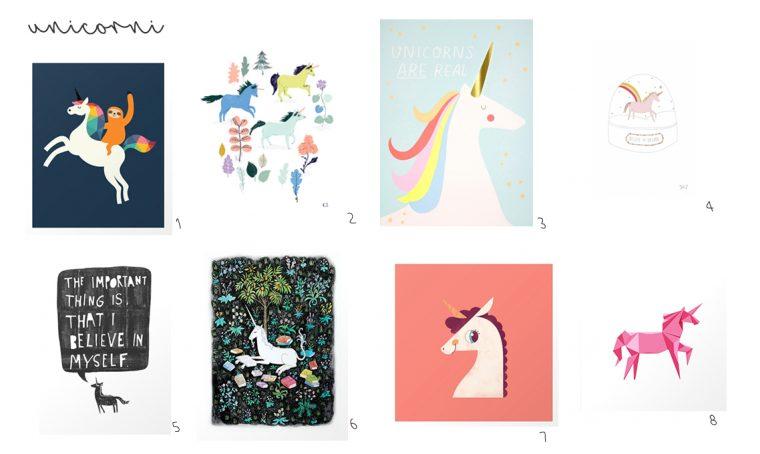 57 idee per decorare le pareti della cameretta con stampe e poster