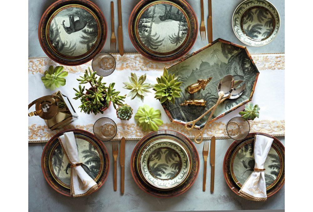 Come apparecchiare una tavola super decorata ed elegante