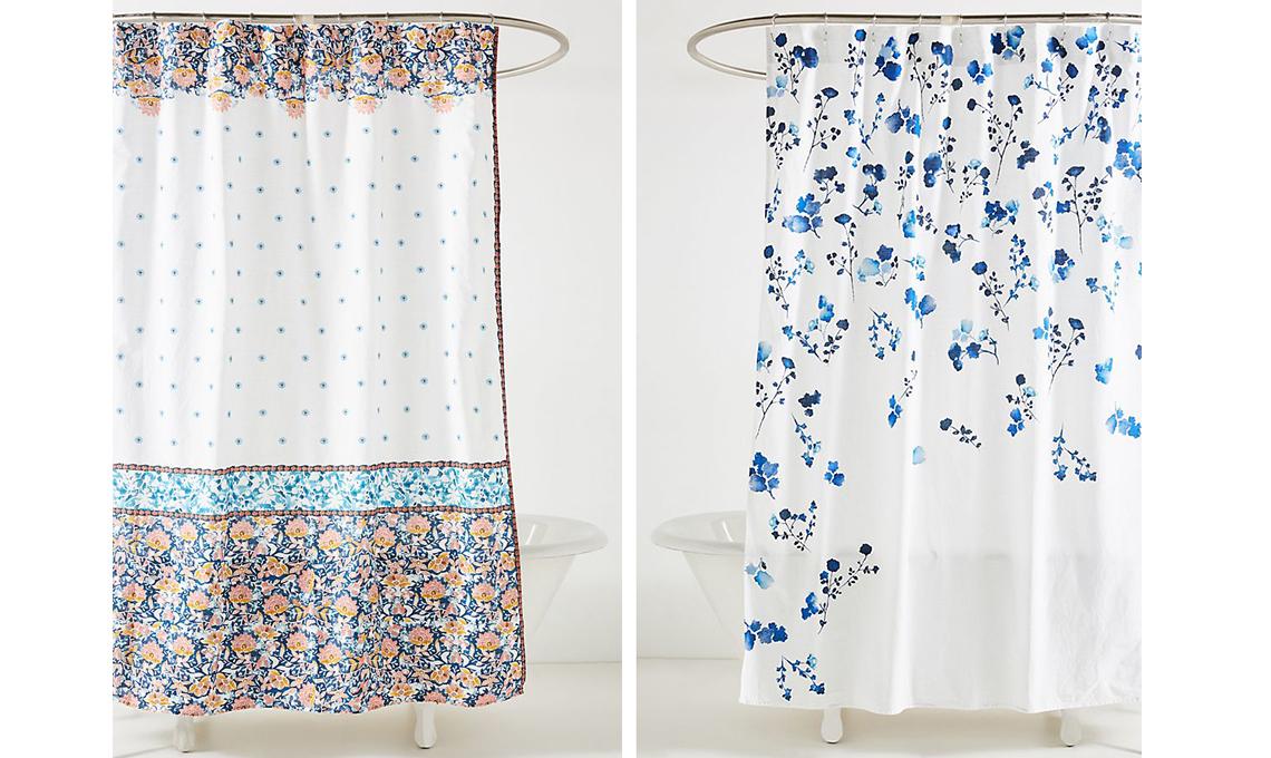 21 tende per la doccia casafacile - Tende per il bagno immagini ...