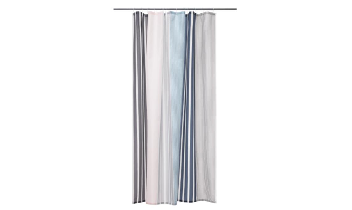 Tende Da Doccia In Tessuto Ikea : 21 tende per la doccia casafacile