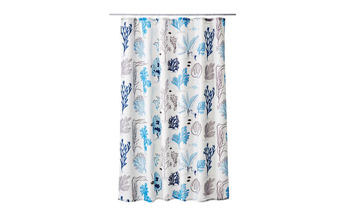 21 tende per la doccia casafacile - Tende per doccia in tessuto ...