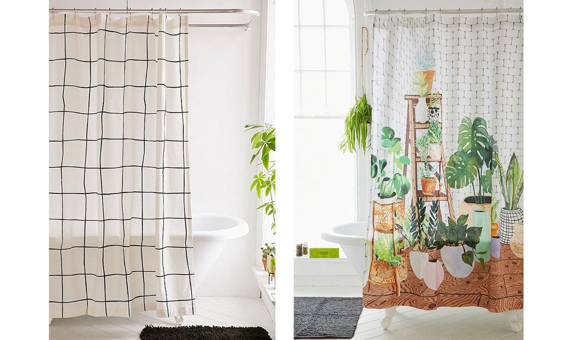 21 tende per la doccia casafacile - Tende per doccia in lino ...