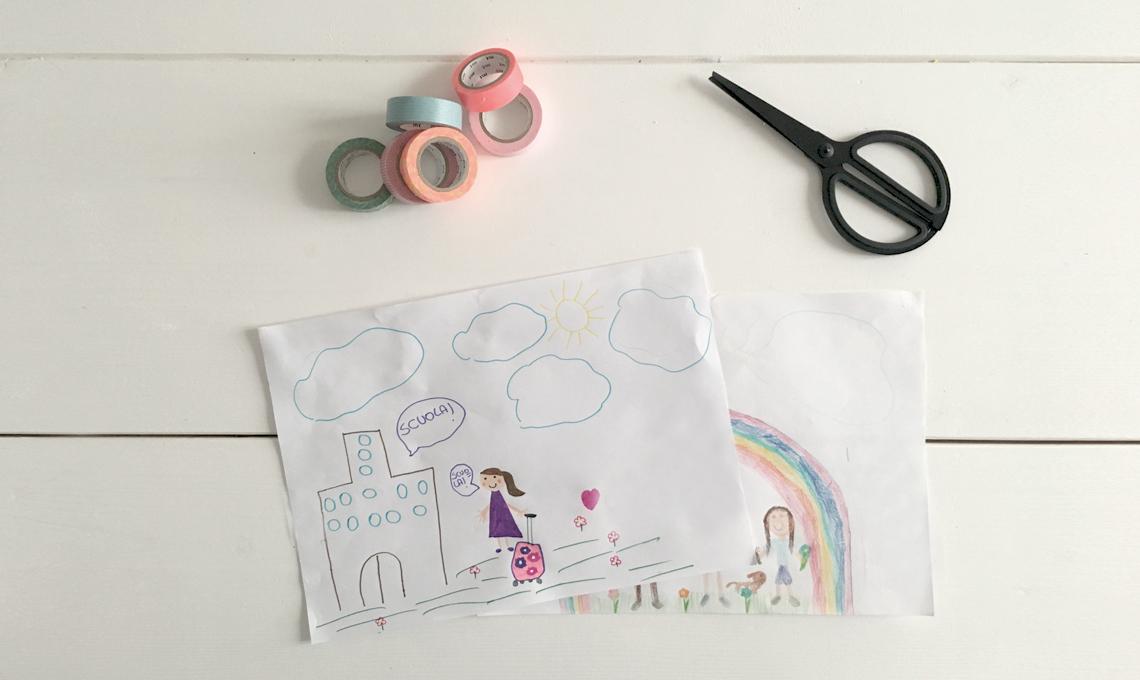 Disegno Bagno Per Bambini : 5 modi per appendere i disegni in cameretta casafacile