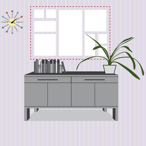 Come appendere i quadri 10 idee da copiare casafacile for Quadri da copiare