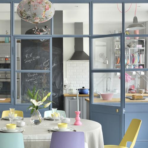 Cucina a vista o separata casafacile - Cucina con vetrata a vista ...
