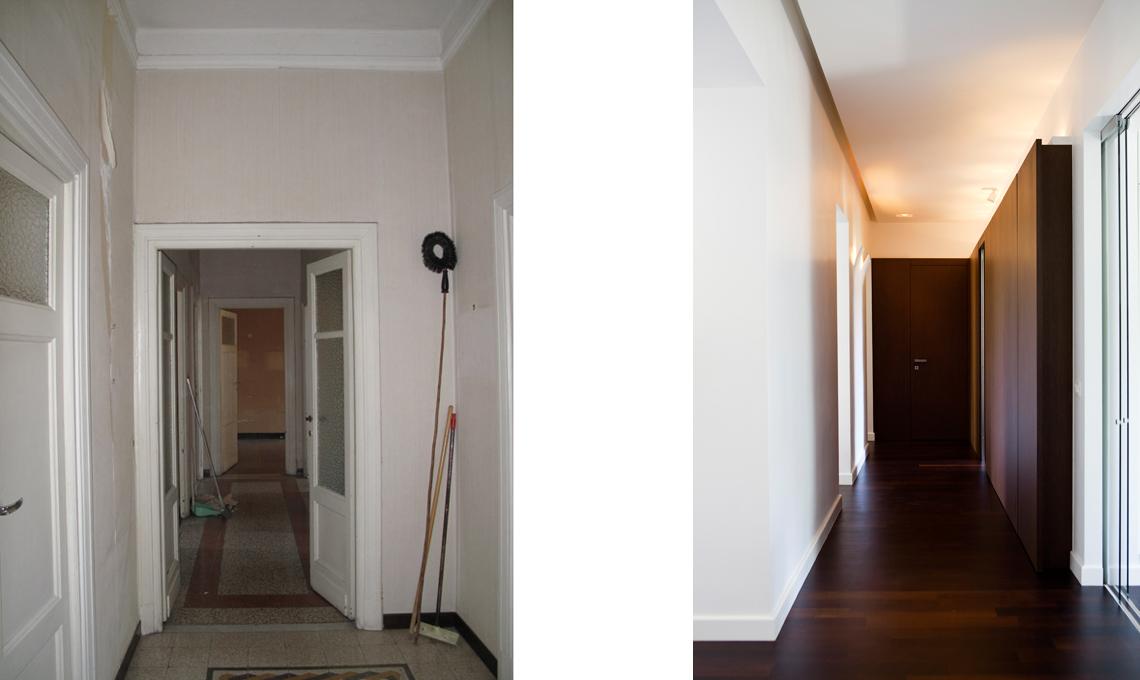 Corridoio Lungo Casa : Ristrutturare una casa depoca con arredamento moderno casafacile