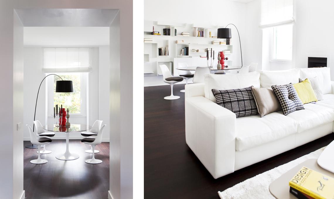 Ristrutturare una casa d 39 epoca con arredamento moderno for Arredamento casa bianco