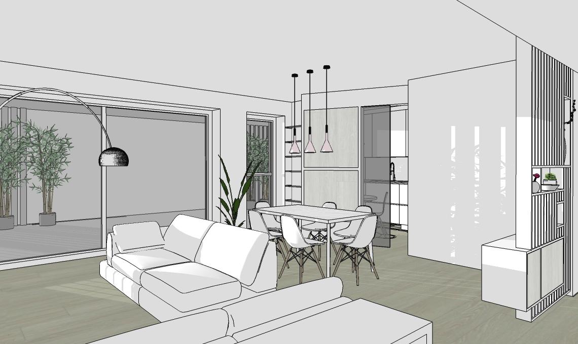 Progetto di arredamento casafacile for Progetto casa arredamenti