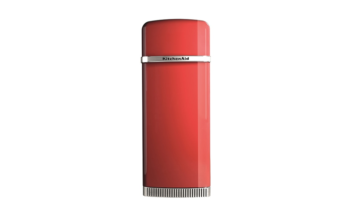 KitchenAid frigorifero rosso