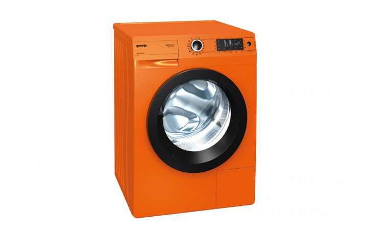 Lavatrice arancione