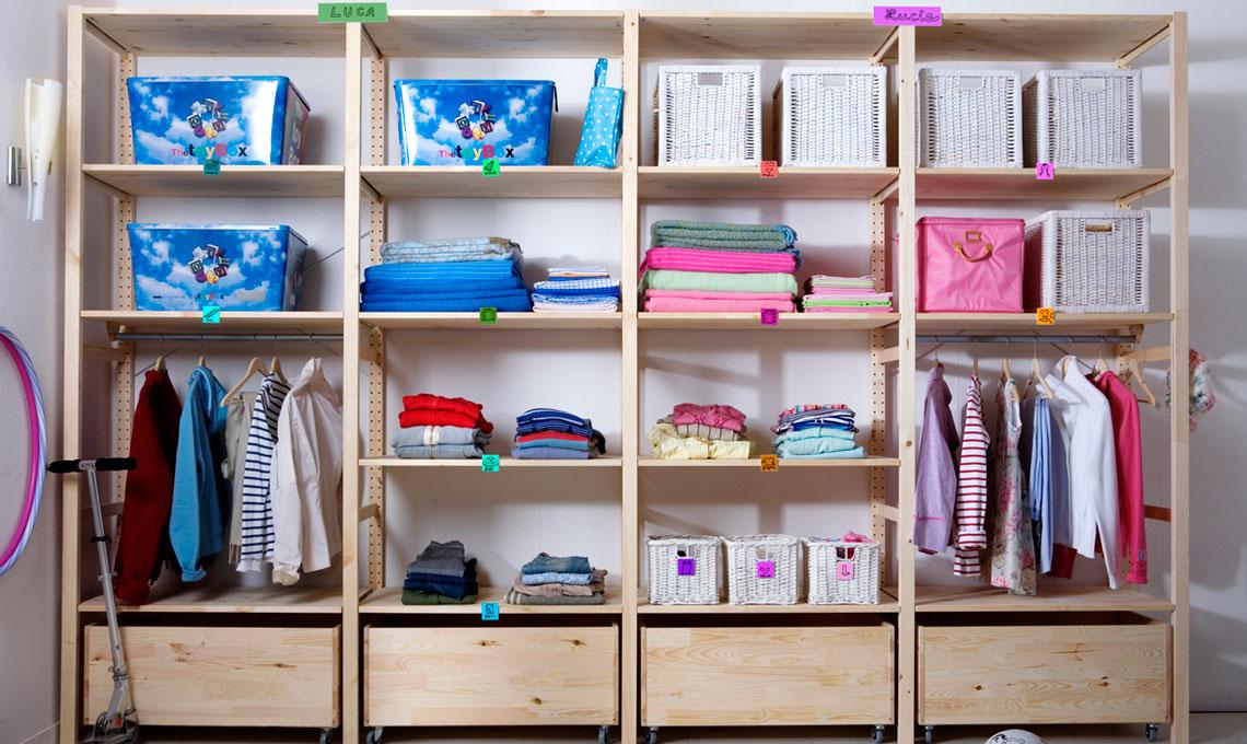 Crea una cabina armadio con poca spesa casafacile for Arredo cabina armadio