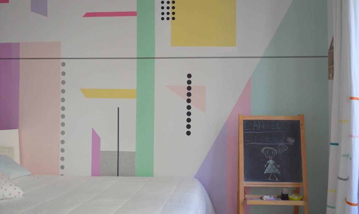 Pareti Cameretta A Pois : Come dipingo la cameretta idee per la casa