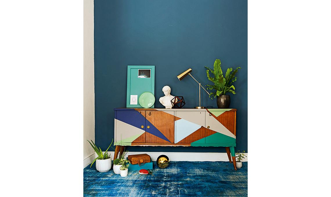 Come Costruire Una Madia Legno.Dipingere Una Madia Anni 50 Casafacile
