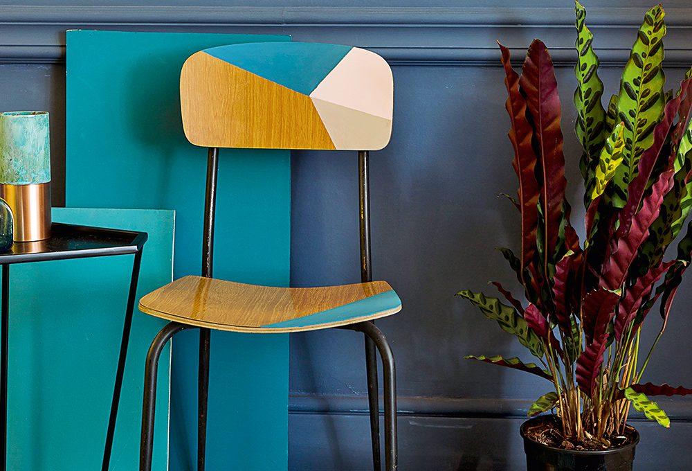 Dipingere una sedia vintage