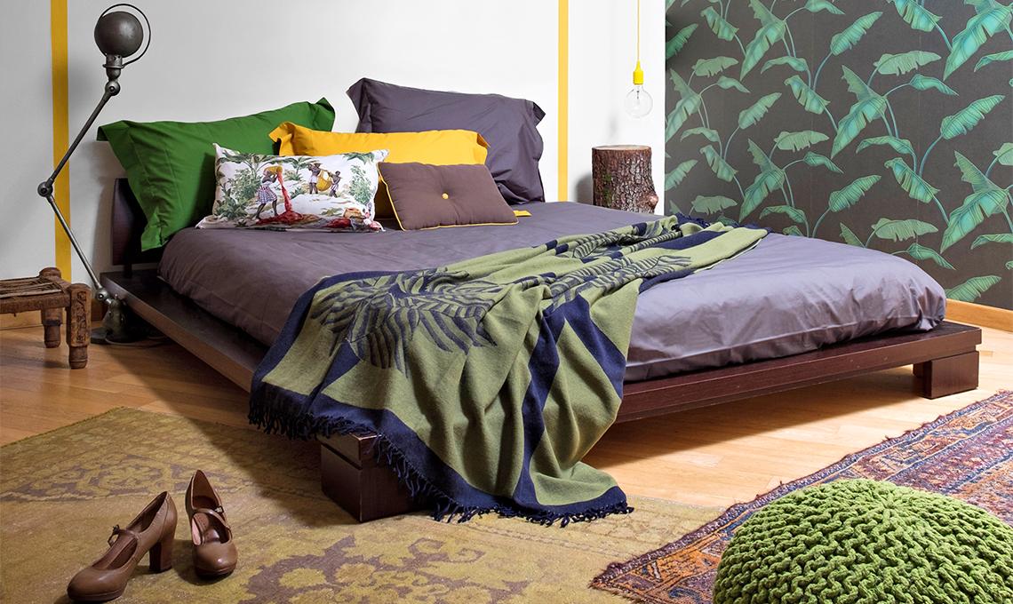 Prima & dopo di una camera da letto in stile \