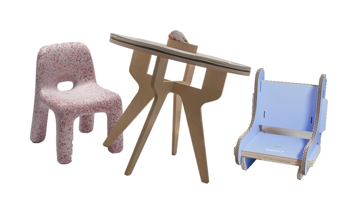 Sedie e tavoli pratici ed ecologici per la cameretta casafacile