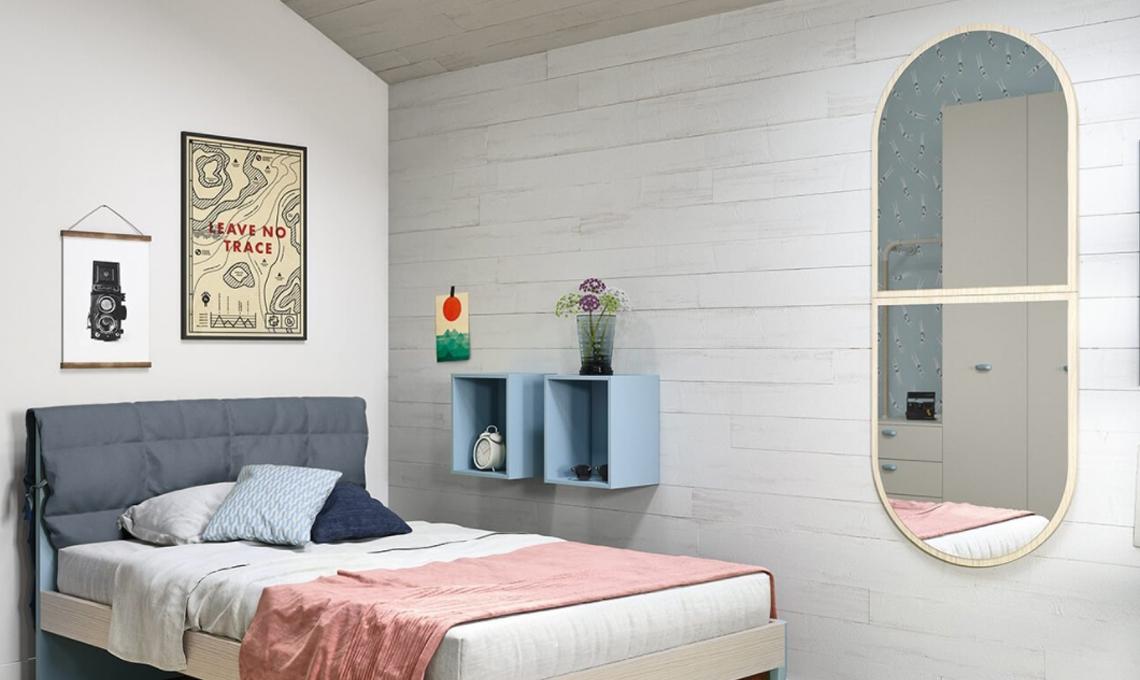 10 specchi per arredare la camera dei bambini casafacile for Idee per arredare camera ragazzo