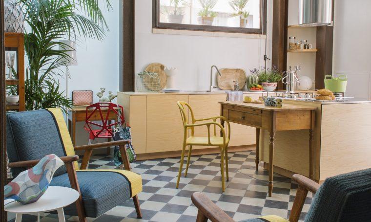Open space come dividere cucina e soggiorno casafacile for Piani casa fienile