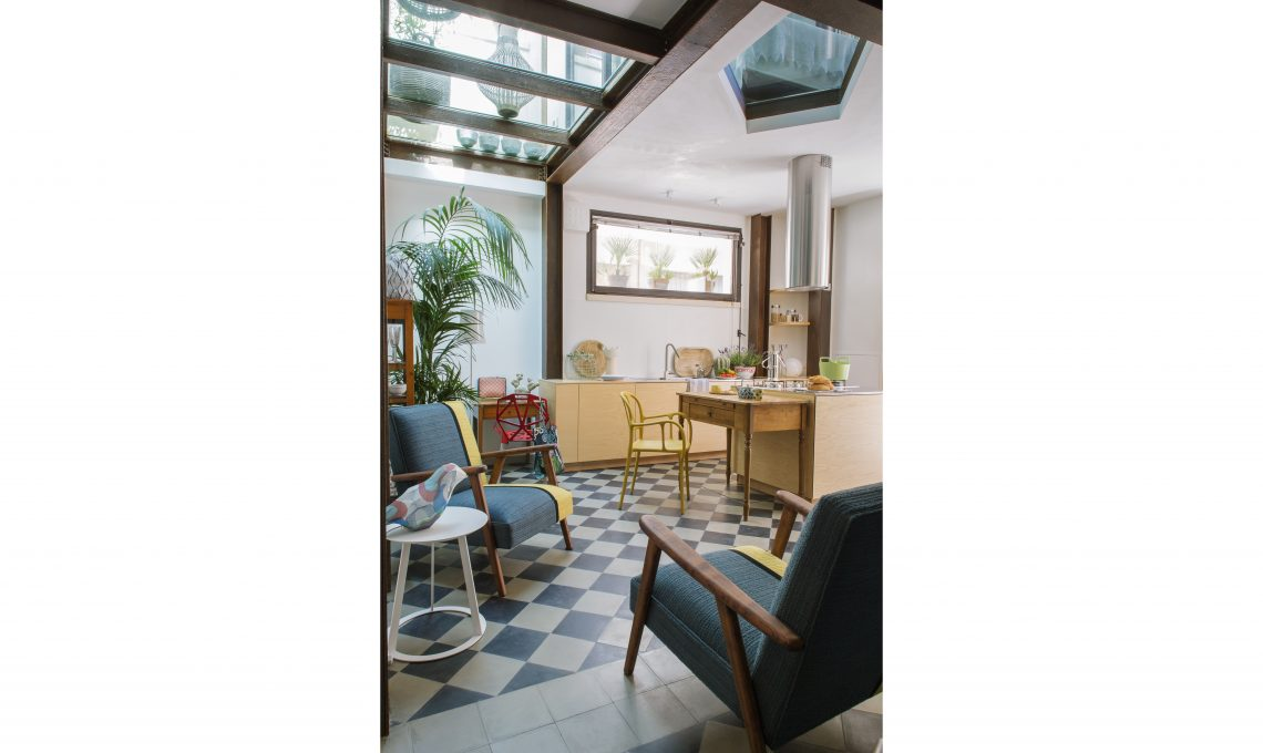 50mq su due piani la ristrutturazione di una mini casa - Casa su due piani ...