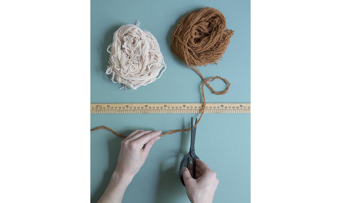 Arazzo lana fai da te