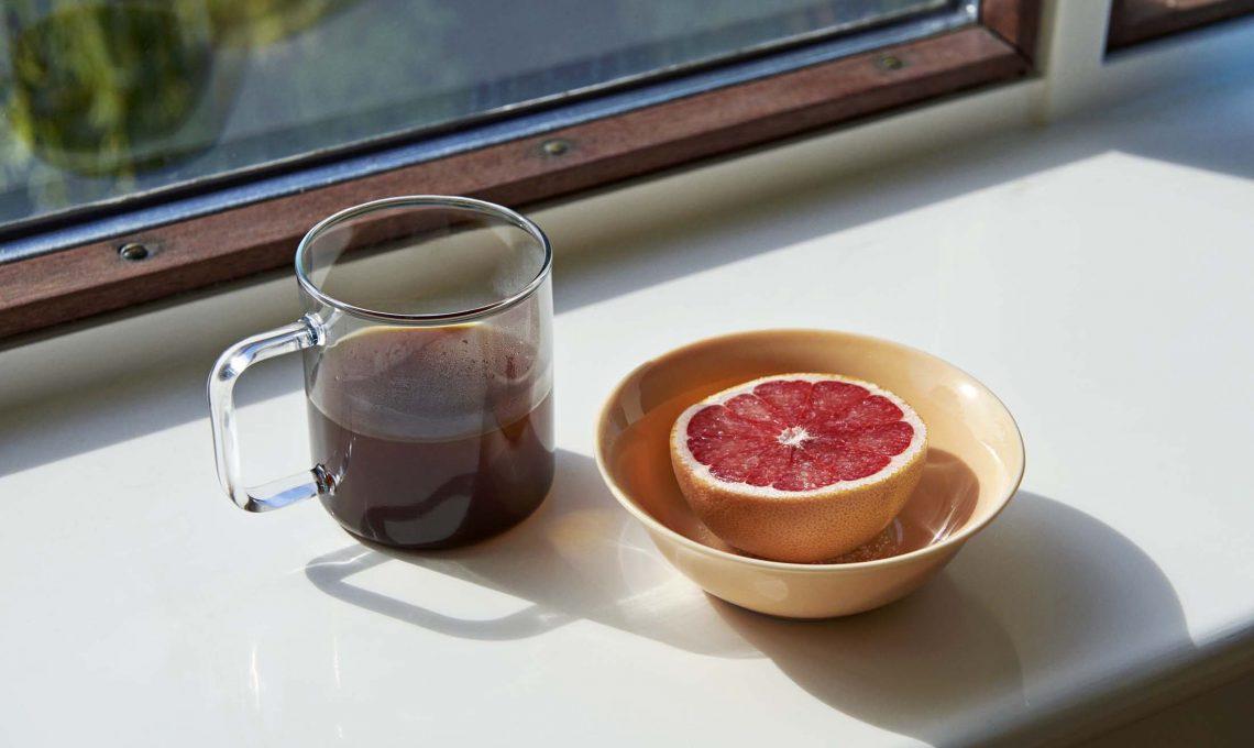 tazza in vetro